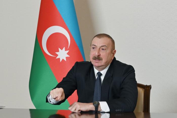 """Presidente:  """"Armenia quiere obstaculizar la implementación del Corredor de Zangazur"""""""