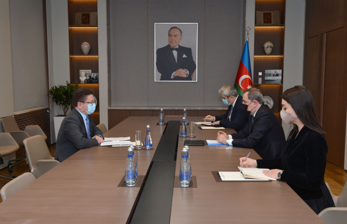 Azerbaijani FM, head of Baku office of CE discuss development of new action plan for cooperation