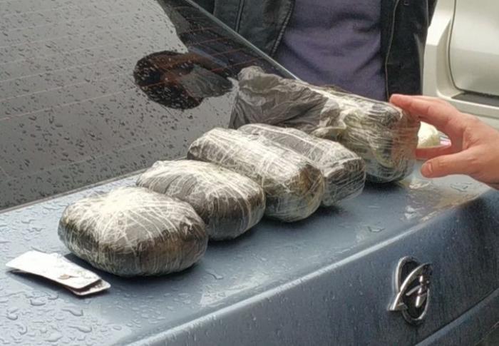 Cəlilabad polisi 8 kq narkotiki dövriyyədən çıxardı
