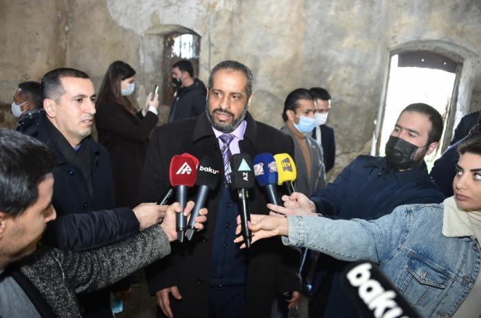 """Encargado de negocios ad interim de Libia:  """"La atrocidad armenia en Karabaj no tiene parangón"""""""