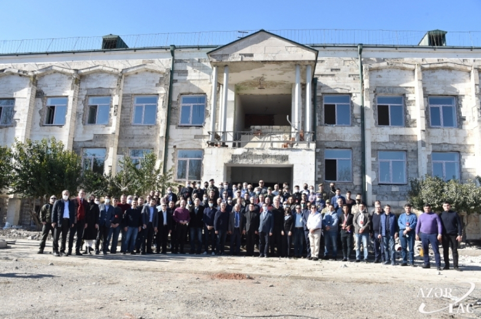 Los diplomáticos extranjeros visitan Gubadli -  FOTOS
