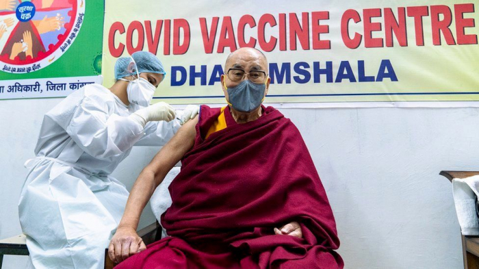 Dalai Lama urges others to get COVID vaccine
