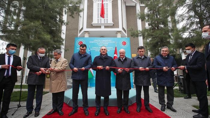 Səmərqənddə Türkiyənin baş konsulluğu açıldı