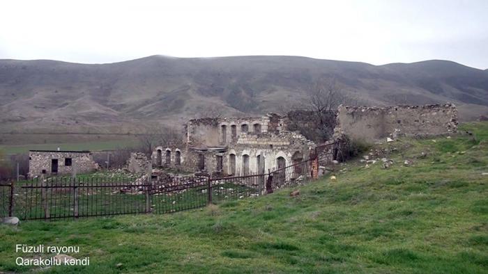 El Ministerio de Defensa emite imágenes de la aldea Garakollu de Fuzuli