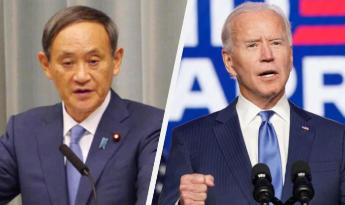 Japan government spokesman says timing of Biden-Suga meeting undecided