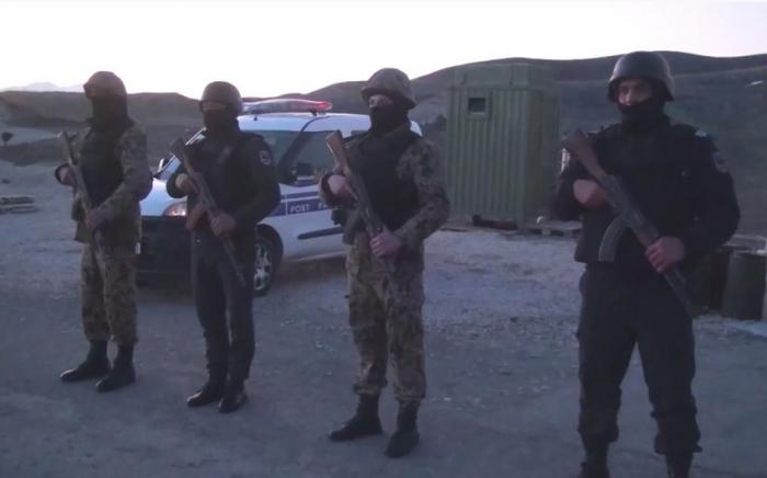 Las medidas de seguridad se refuerzan en el distrito de Zangilan-VIDEO