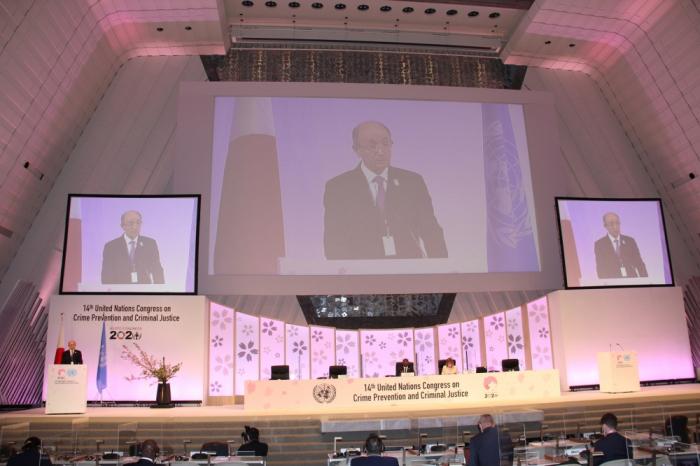 Los crímenes de guerra de Armenia se exponen en el14º Congreso de las Naciones Unidas sobre Prevención del Delito y Justicia Penal