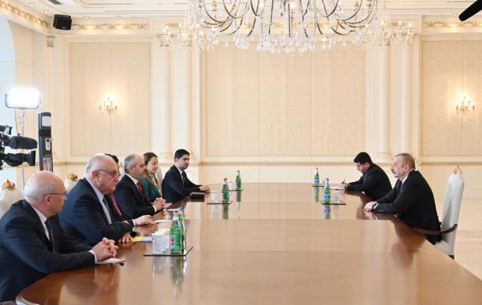 President Ilham Aliyev received Turkish Grand National Assembly delegation