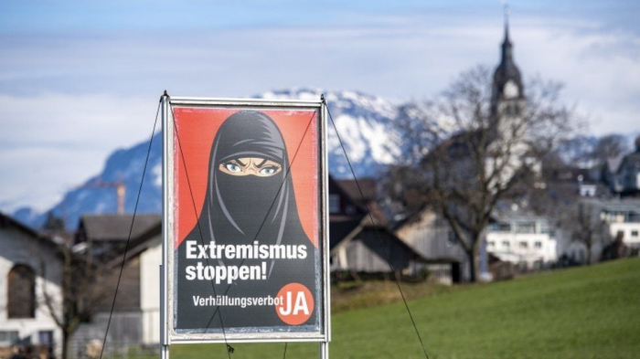 Switzerland votes to support ban on face coverings in public
