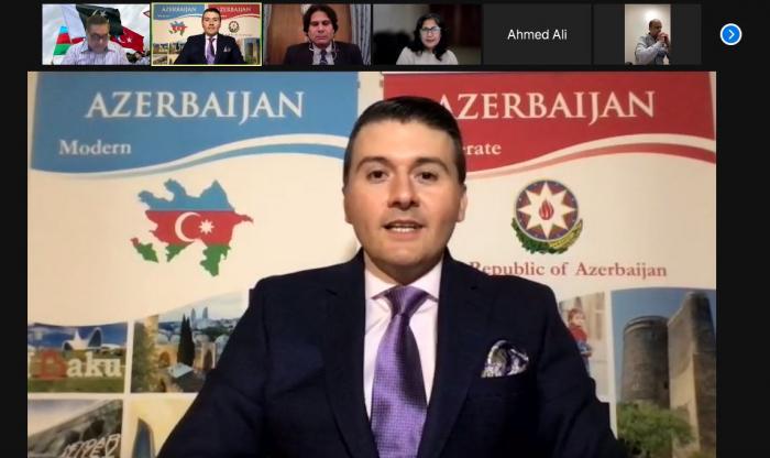 Azerbaijani, Turkish consul generals in LA meet with leaders of Pakistani community