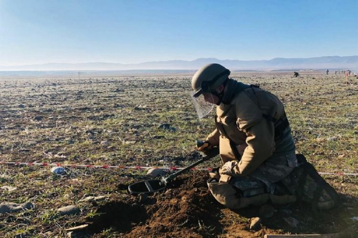Azerbaijan demines over 128 hectares of area in five districts