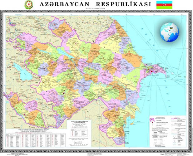 Azerbaijan approves action plan to prevent distortion of its map