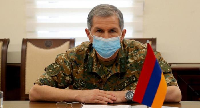 Armenian PM Pashinyan announces dismissal of General Staff chief
