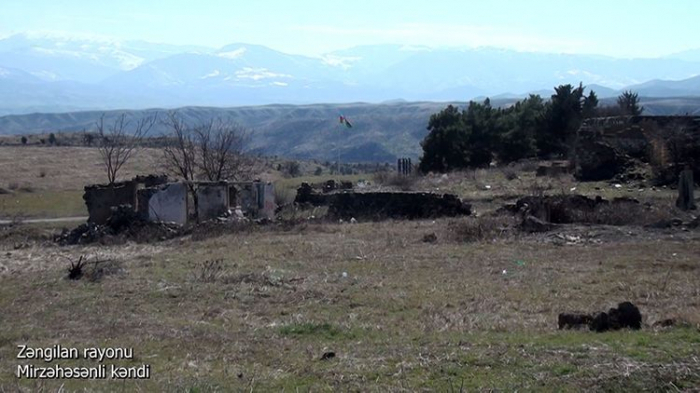 Video   footage of the Mirzahasanlar village of the Zangilan region