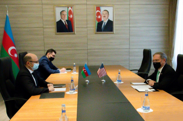 Azərbaycan-ABŞ energetika əməkdaşlığı müzakirə edildi