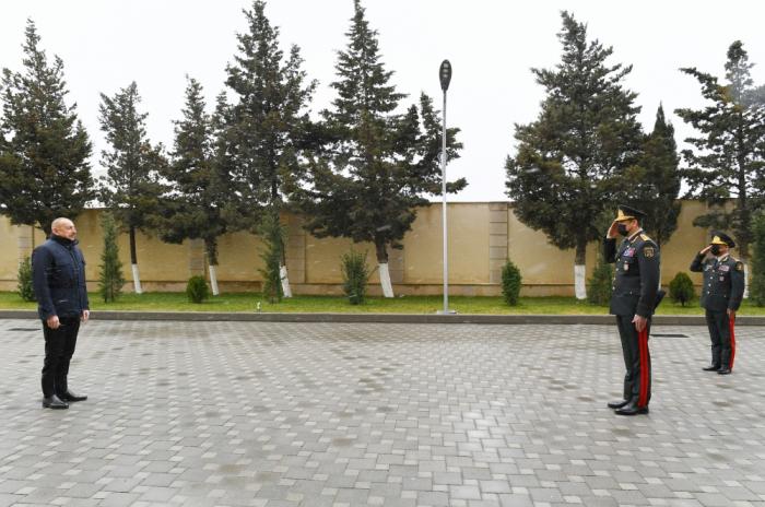 President Ilham Aliyev attends opening of Internal Troops