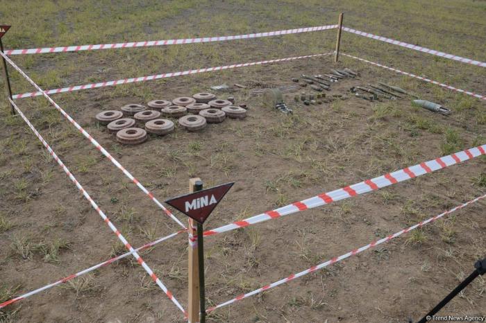 Azerbaijan urges Armenia to provide maps of mined lands