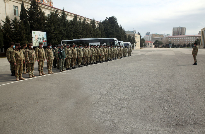 Azerbaijan's troops and military vehicles leave for exercise area –   VIDEO