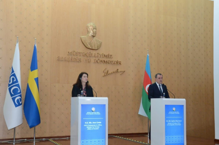 Peace statements ensure peace in South Caucasus region, says Azerbaijani FM