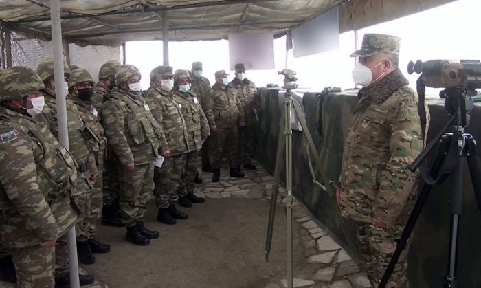 Operational-tactical exercises of Azerbaijani army continues –   VIDEO