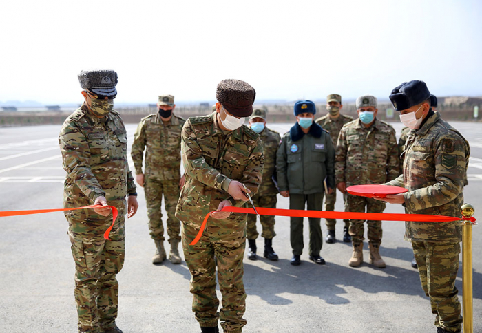 Azerbaijani defense minister attends opening of new military units –  VIDEO