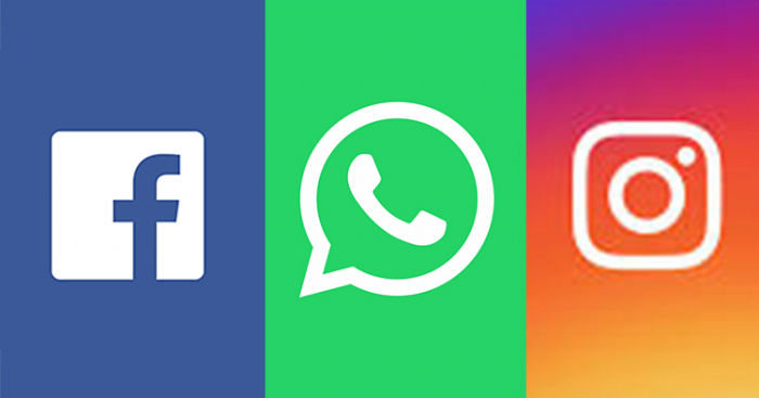 Instagram, WhatsApp, Facebook and Messenger are all down right now