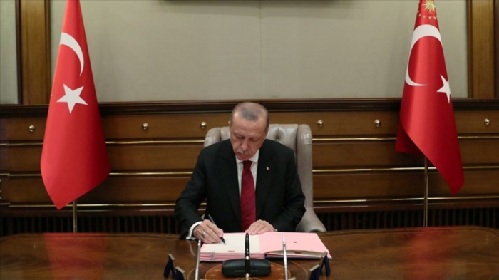 Erdogan approves Turkey-Azerbaijan document on strategic co-op in media