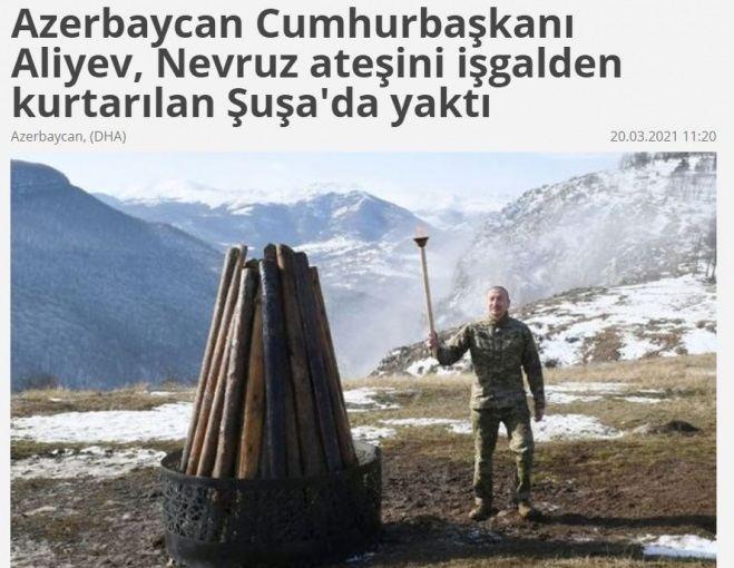 Turkish media highlights Novruz celebration in Azerbaijan's liberated Shusha