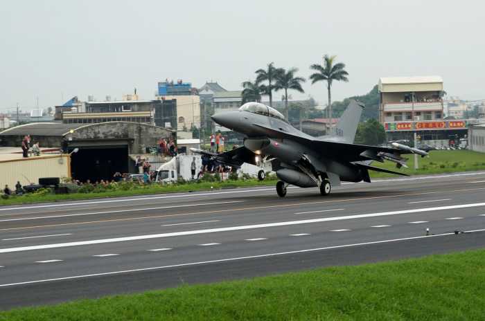 Two fighter jets crash in Taiwan