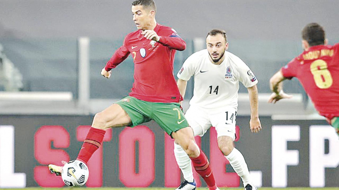 Portugal 1-0 Azerbaijan: Own goal gives Portugal victory