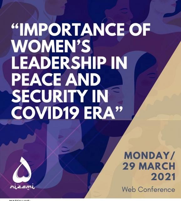 Pandemiya dövründə qadın liderliyinin rolu ilə bağlı beynəlxalq konfrans keçiriləcək