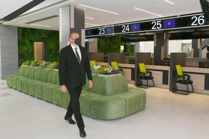 Prezident DOST mərkəzinin açılışında iştirak edib - FOTOLAR (YENİLƏNİB)
