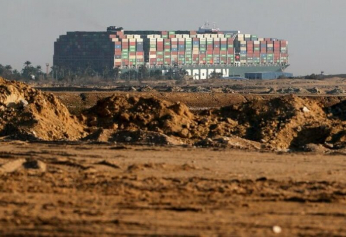 Huge ship blocking Suez Canal partially refloated, more work needed