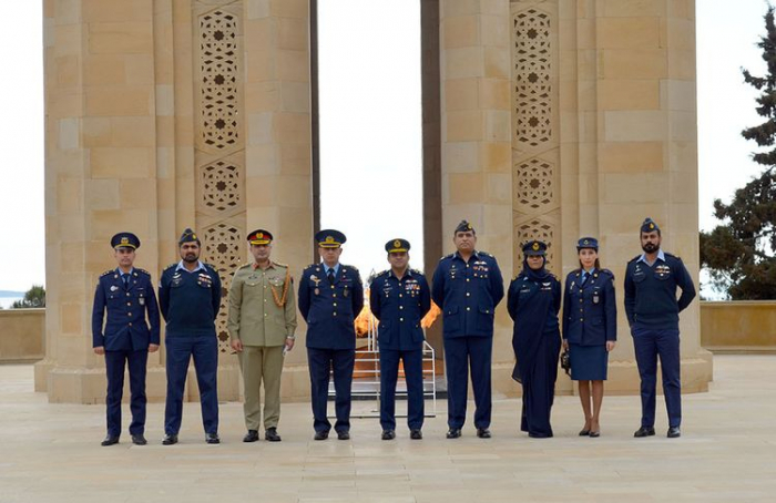 Pakistani Air Force delegation arrives in Azerbaijan -   VIDEO