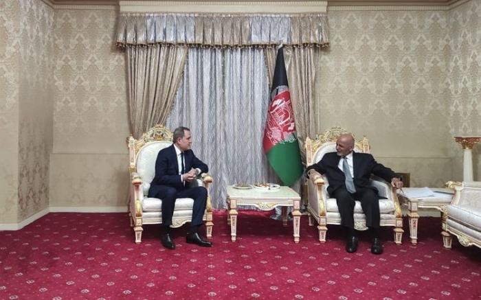 Ceyhun Bayramov Əfqanıstan Prezidenti ilə görüşüb