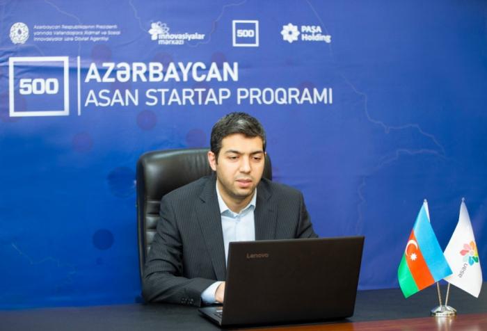 """""""Azərbaycan 500 ASAN Startap Proqramı""""nın ilk sessiyası keçirilib"""
