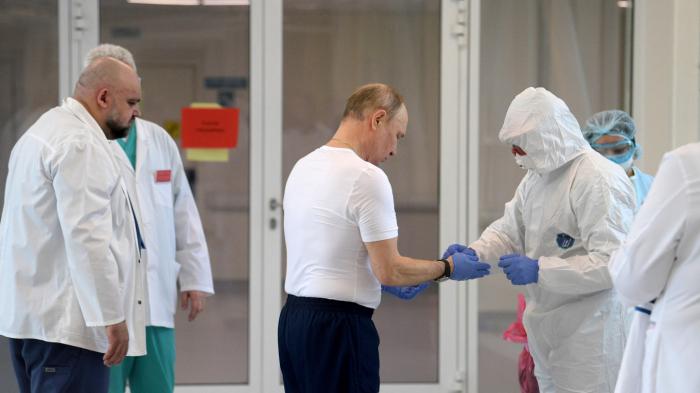 Putin peyvənddən sonra özünü yaxşı hiss edir