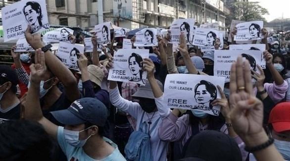 نشطاء ميانمار يتعهدون بمزيد من الاحتجاجات