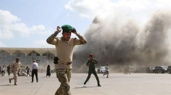 انفجار يستهدف موكباً لقيادات عسكرية في مدينة عدن
