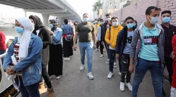 مصر تسجل 579 إصابة جديدة بكورونا و45 وفاة