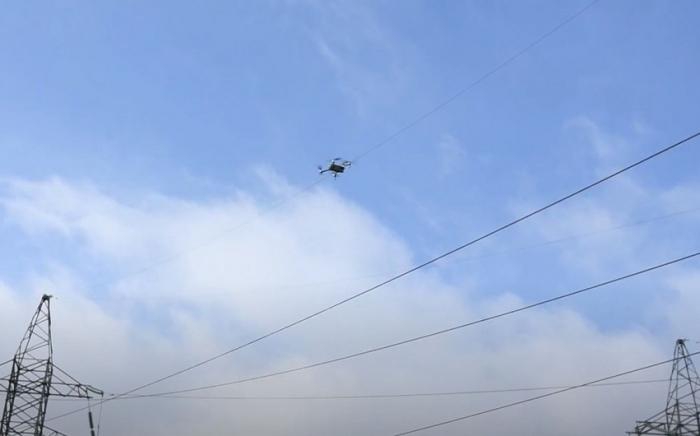 """""""Azərişıq"""" qəzaları dronlarla aşkarlayacaq -    VİDEO"""