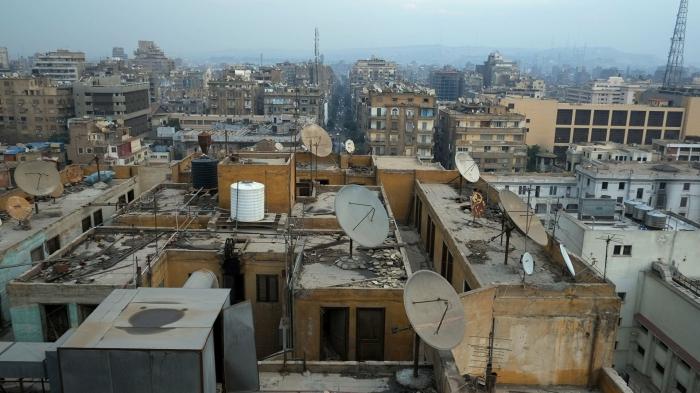 Qahirədə yaşayış binası çökdü -   5 ölü, 24 yaralı