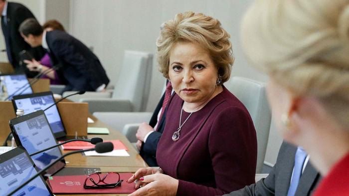 Matvienko: la Russie espère que l