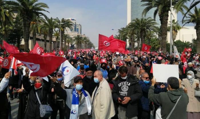 تونس... احتجاجات للمطالبة بإطلاق سراح المعتقلين... فيديو
