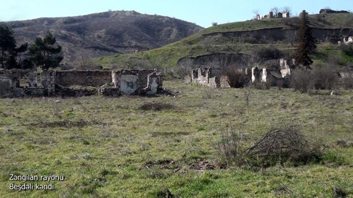 لقطات قرية بشدالي في منطقة زنجيلان -   فيديو