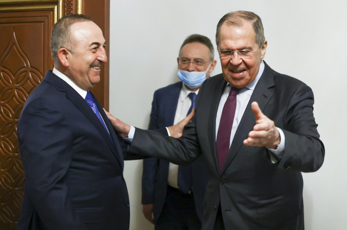 Turkish, Russian foreign ministers meet in Doha