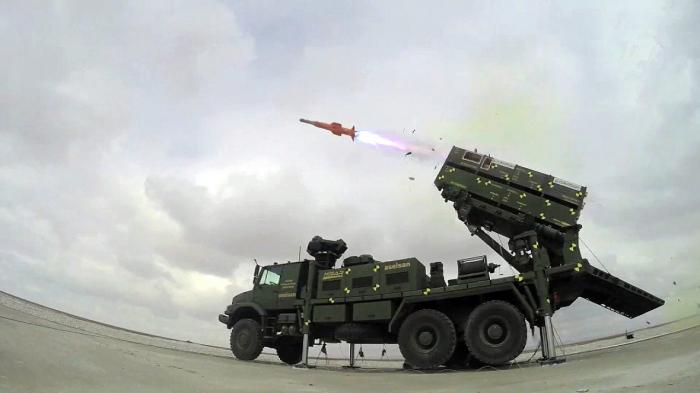 """Türkiyə """"Hisar-O"""" raketdən müdafiə sistemini sınaqdan keçirdi"""