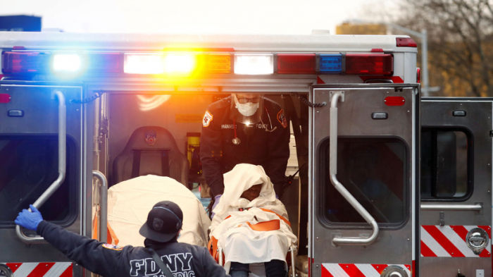ABŞ-da son sutkada 1558 nəfər virusdan öldü