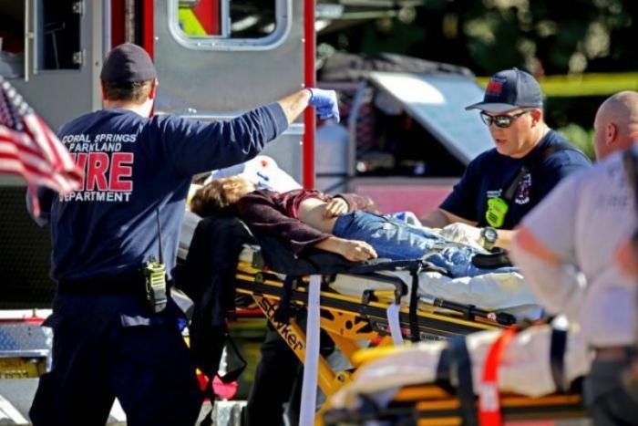 ABŞ-da silahlı insident:    Yaralılar var