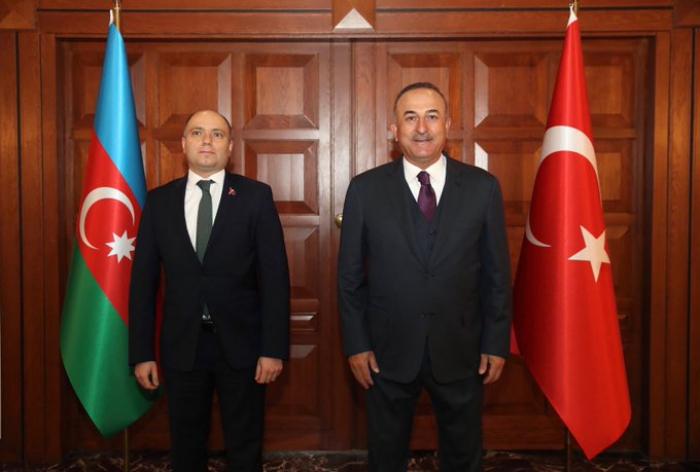 """""""Wir werden die Wiederherstellung des kulturellen Erbes in Karabach unterstützen""""-   Cavusoglu"""